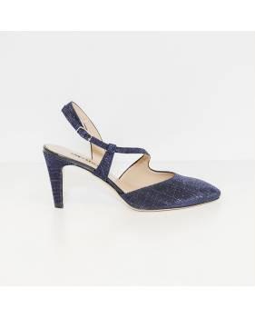 sito autorizzato economico per lo sconto stile alla moda Melluso Chanel E1602F Blu Colore Glitter blu Taglia Donna 35 donna ...