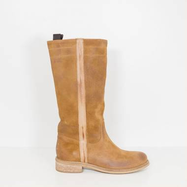 Ni-Na Light Brown Boots Made in Italy