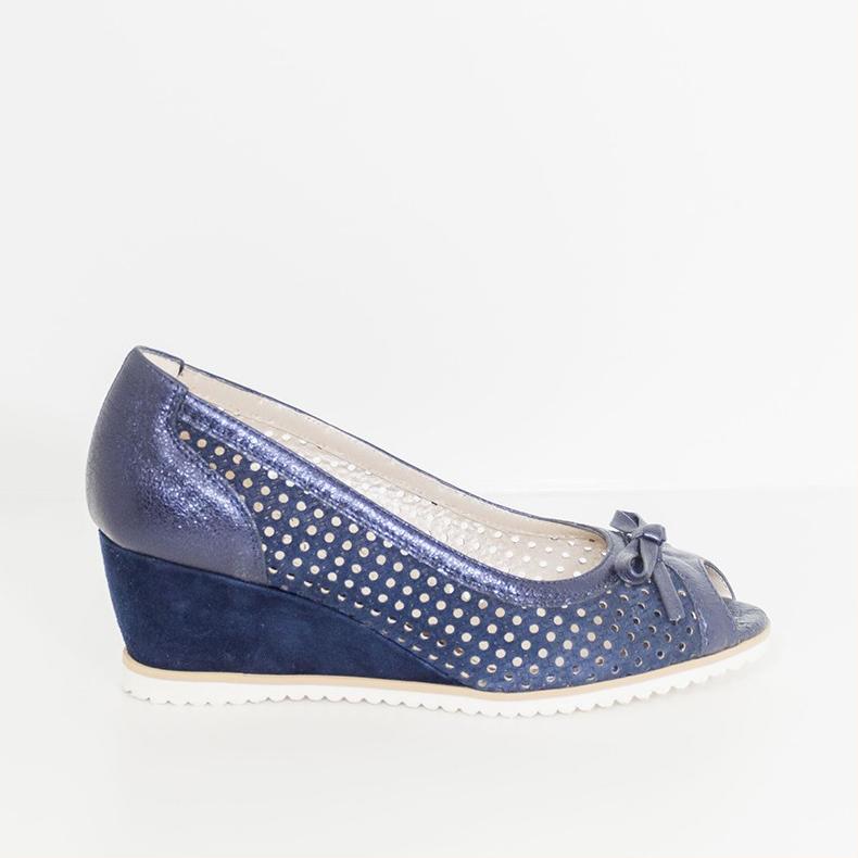 size 40 878c8 c3d1e Ilario Morelli 9379Z Blu Colore Blu Taglia Donna 35 donna Tipo Spuntato