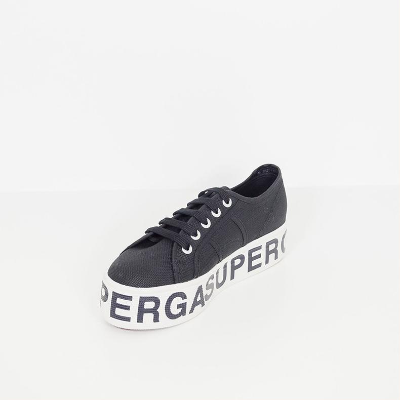 scarpe sportive e249f 3bf63 Superga 2790 Cotw Outsole Lettering Nero Colore Nero Taglia Donna 37 donna  Tipo Sneakers