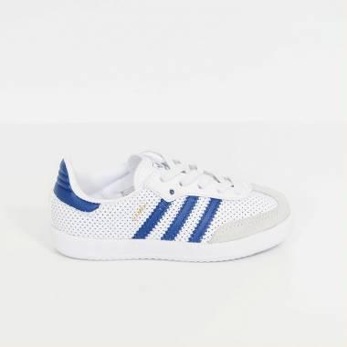 adidas samba bianche blu
