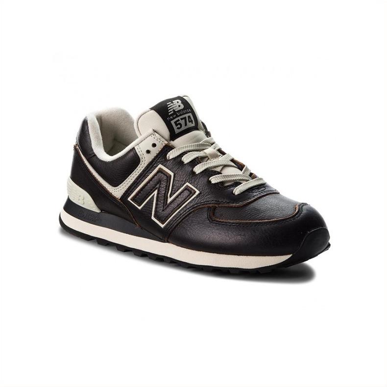 New Balance ML574LPK Nero Colore Nero Taglia Uomo 40.5 uomo Tipo Sneakers
