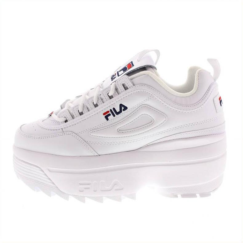 Fila Disruptor Wedge Wmn 1010865 Bianco Colore Bianco Taglia Donna 36 donna Tipo Sneakers