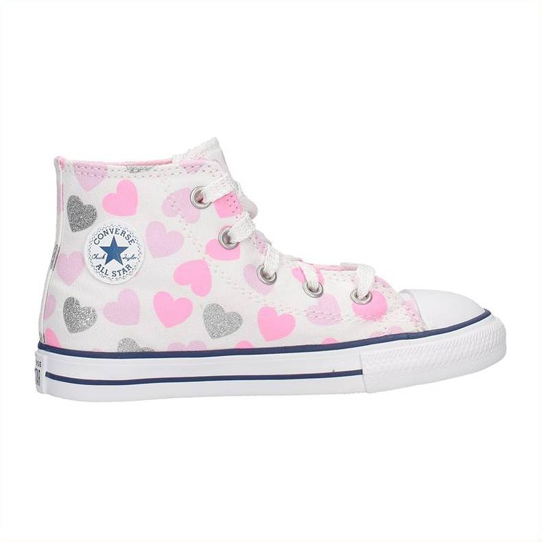 Converse Chuck Taylor All Star 768018c Fantasia Cuori Colore Multicolor Tipo Sneakers Taglia 21