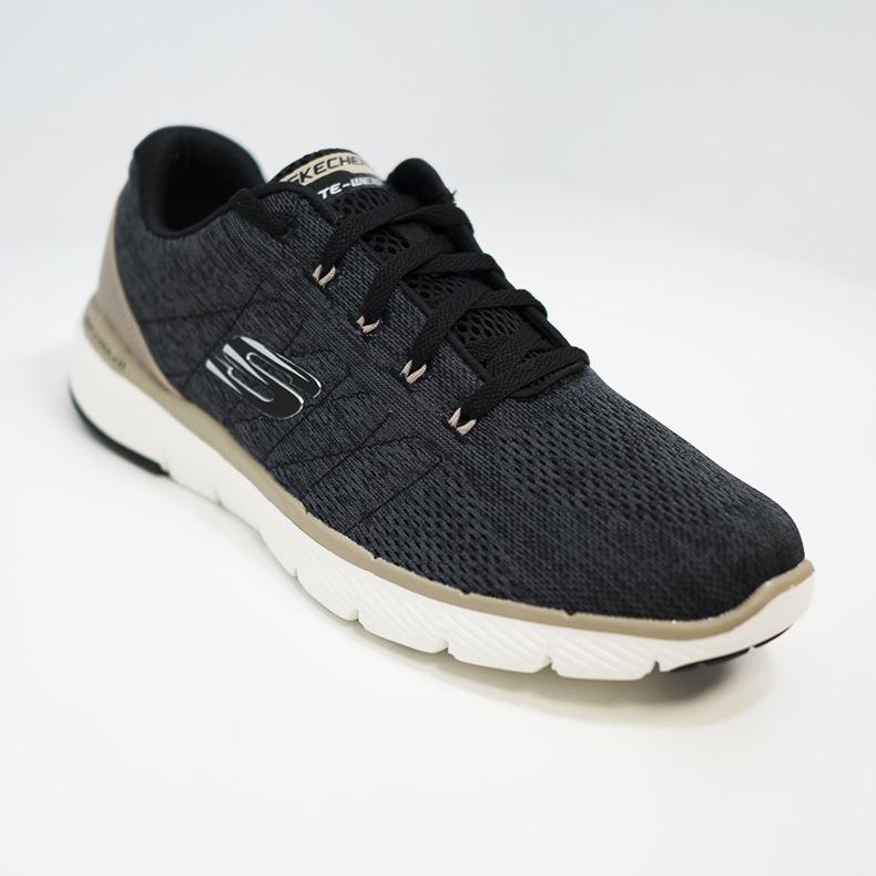 Skechers Flex Advantage 3.0 Stally Nero Colore Nero Taglia Uomo 40 uomo Tipo Sneakers